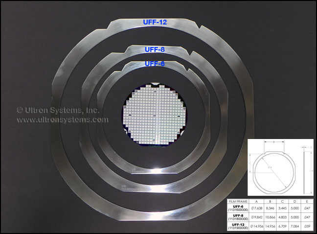 Ultron Systems Inc Grip Rings Film Frames